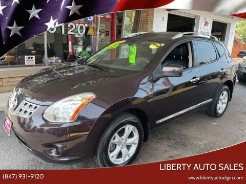 2011 Nissan Rogue for sale at Liberty Auto Sales in Elgin IL
