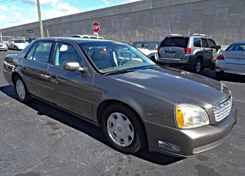 2002 Cadillac DeVille for sale at DONNY MILLS AUTO SALES in Largo FL