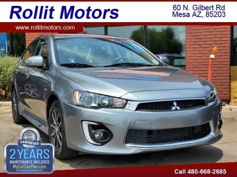 2017 Mitsubishi Lancer for sale at Rollit Motors in Mesa AZ