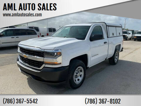 2016 Chevrolet Silverado 1500 for sale at AML AUTO SALES - Utility Trucks in Opa-Locka FL