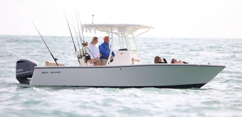 2021 SEA BORN LX24 CC for sale at Key West Kia - Wellings Automotive & Suzuki Marine in Marathon FL