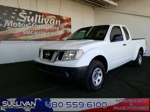 2016 Nissan Frontier for sale at SULLIVAN MOTOR COMPANY INC. in Mesa AZ