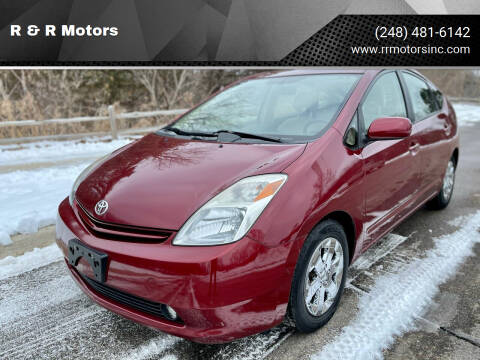 2004 Toyota Prius for sale at R & R Motors in Waterford MI