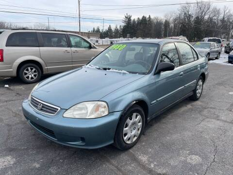 2000 Honda Civic for sale at ARG Auto Sales in Jackson MI