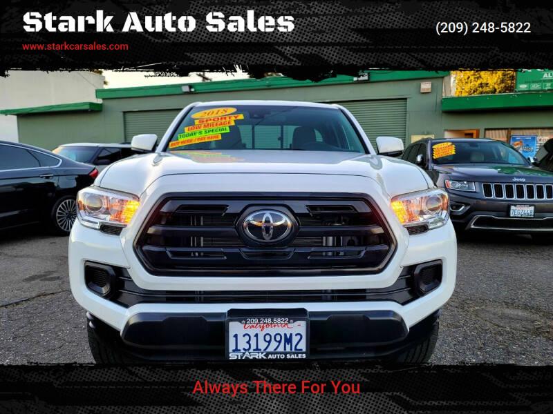 2018 Toyota Tacoma for sale at Stark Auto Sales in Modesto CA