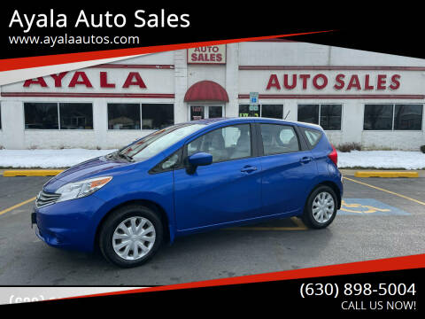 2015 Nissan Versa Note for sale at Ayala Auto Sales in Aurora IL
