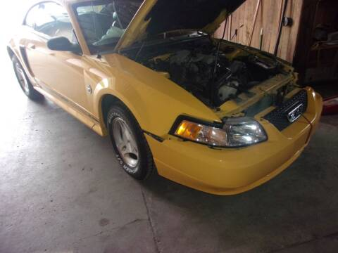 1999 Ford Mustang for sale at Marty Hart's Auto Sales in Sturgis MI