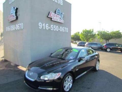 2009 Jaguar XF for sale at LIONS AUTO SALES in Sacramento CA