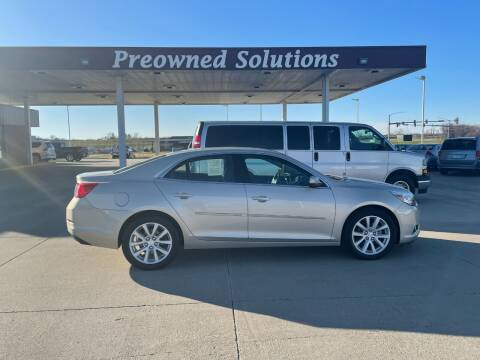 2014 Chevrolet Malibu for sale at Preowned Solutions in Urbandale IA