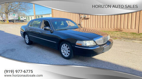 2011 Lincoln Town Car for sale at Horizon Auto Sales in Raleigh NC