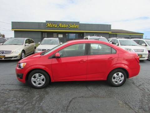 2015 Chevrolet Sonic for sale at MIRA AUTO SALES in Cincinnati OH