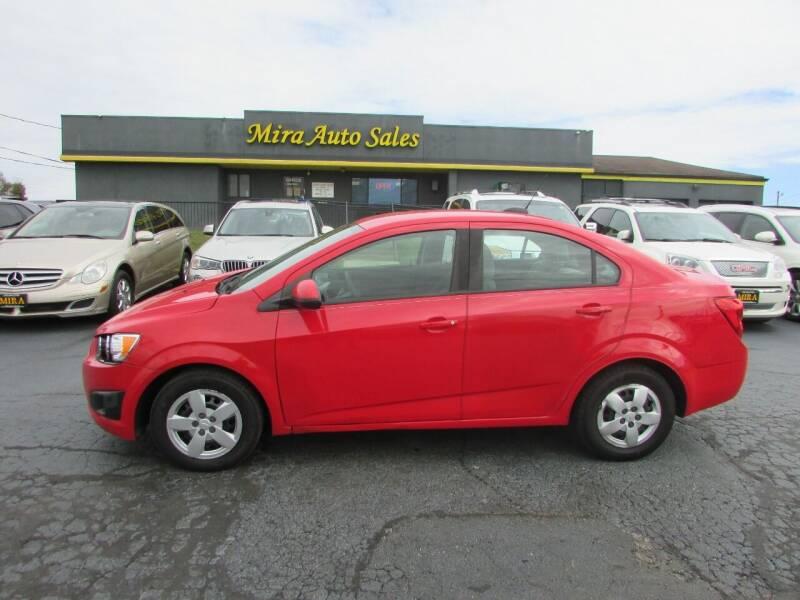 2015 Chevrolet Sonic for sale at MIRA AUTO SALES in Cincinnati OH