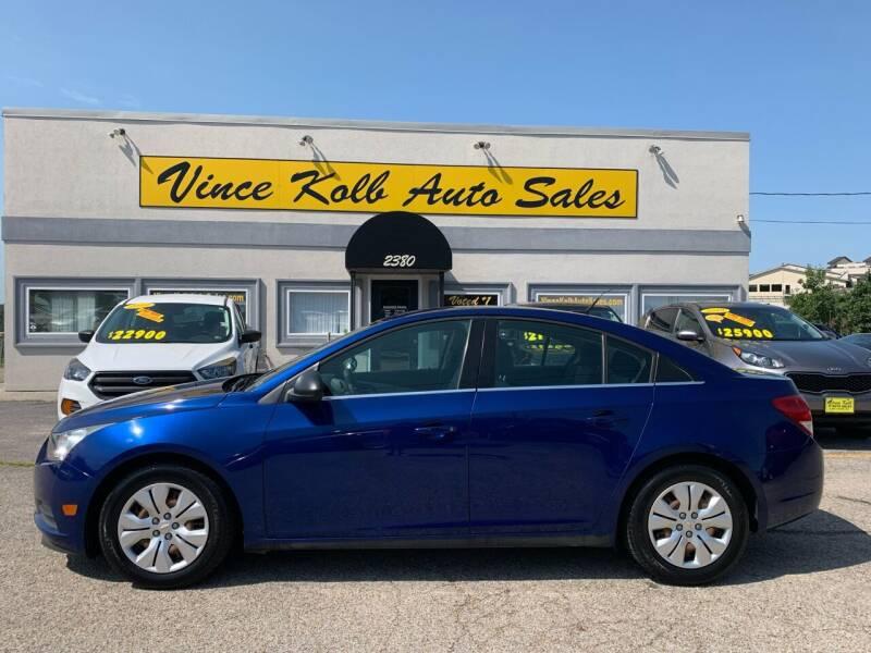 2012 Chevrolet Cruze for sale at Vince Kolb Auto Sales in Lake Ozark MO