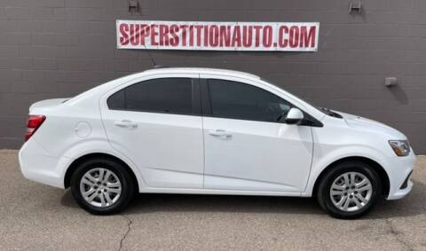 2017 Chevrolet Sonic for sale at Superstition Auto in Mesa AZ