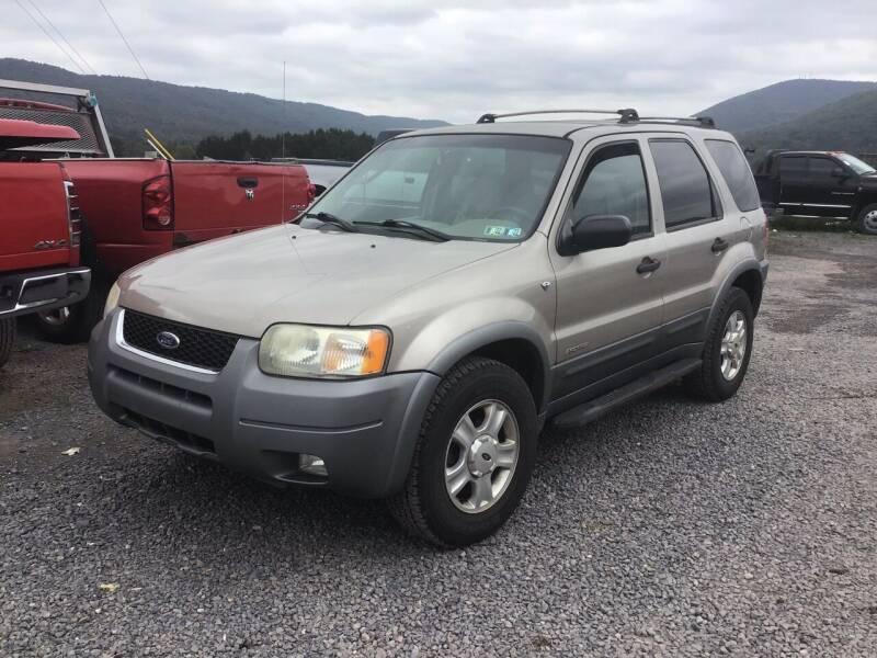 2001 Ford Escape for sale at Troys Auto Sales in Dornsife PA