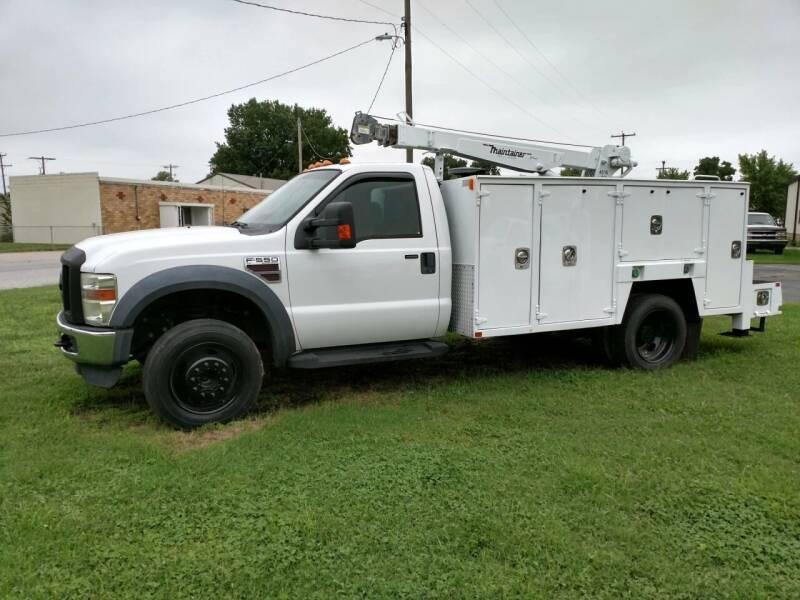 2008 Ford F-550 for sale at KW TRUCKING OF KS in Saint Paul KS