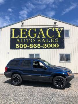 2001 Jeep Grand Cherokee for sale at Legacy Auto Sales in Toppenish WA