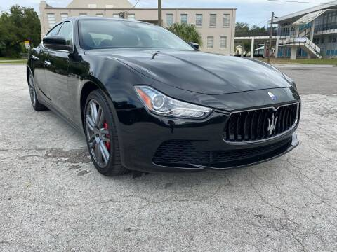 2017 Maserati Ghibli for sale at LUXURY AUTO MALL in Tampa FL