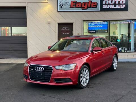 2013 Audi A6 for sale at Eagle Auto Sales LLC in Holbrook MA