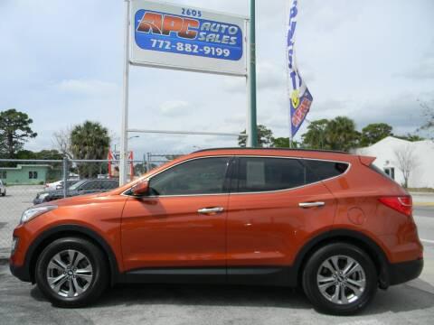 2015 Hyundai Santa Fe Sport for sale at APC Auto Sales in Fort Pierce FL