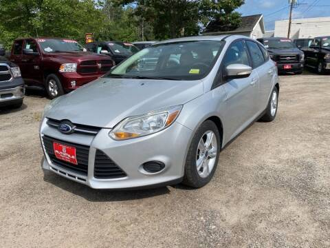 2014 Ford Focus for sale at AutoMile Motors in Saco ME