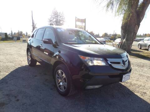 2009 Acura MDX for sale at VALLEY MOTORS in Kalispell MT