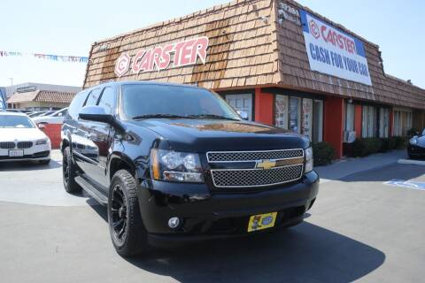 2013 Chevrolet Suburban for sale at CARSTER in Huntington Beach CA