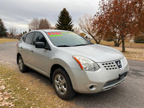2010 Nissan Rogue for sale at BELOW BOOK AUTO SALES in Idaho Falls ID