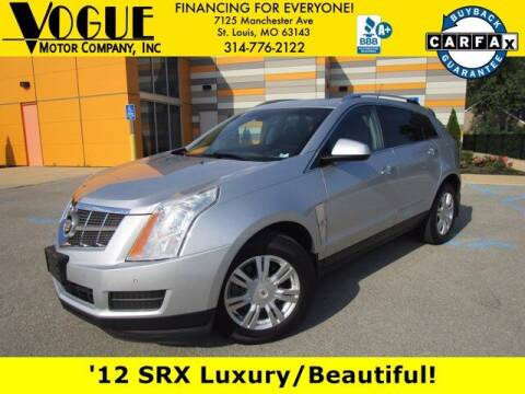 2012 Cadillac SRX for sale at Vogue Motor Company Inc in Saint Louis MO