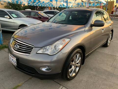 2012 Infiniti EX35 for sale at Plaza Auto Sales in Los Angeles CA