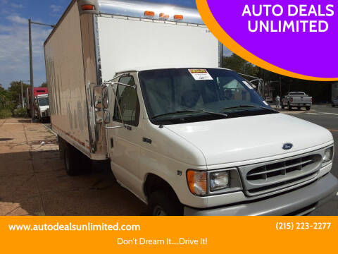 1998 Ford E-Series Chassis for sale at AUTO DEALS UNLIMITED in Philadelphia PA