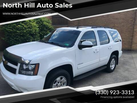 2012 Chevrolet Tahoe for sale at North Hill Auto Sales in Akron OH