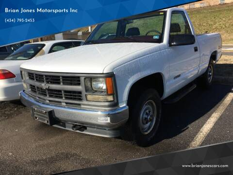 1998 Chevrolet C/K 1500 Series for sale at Brian Jones Motorsports Inc in Danville VA