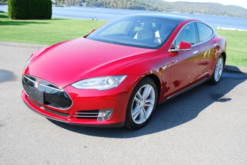 2015 Tesla Model S for sale at New Milford Motors in New Milford CT