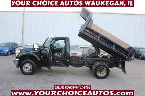 2014 Ford F-350 Super Duty for sale at Your Choice Autos - Waukegan in Waukegan IL
