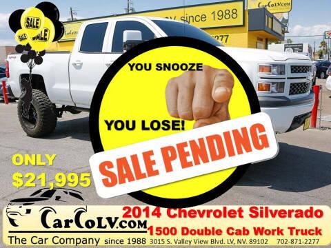 2014 Chevrolet Silverado 1500 for sale at The Car Company in Las Vegas NV