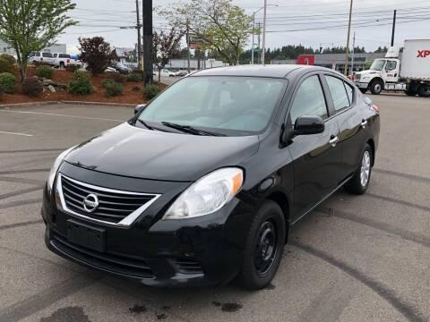 2012 Nissan Versa for sale at South Tacoma Motors Inc in Tacoma WA