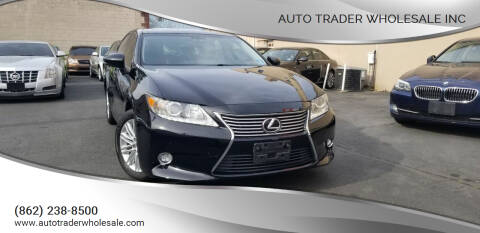 2015 Lexus ES 350 for sale at Auto Trader Wholesale Inc in Saddle Brook NJ
