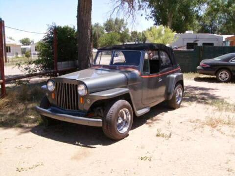 1948 Willys Jeepster for sale at Haggle Me Classics in Hobart IN