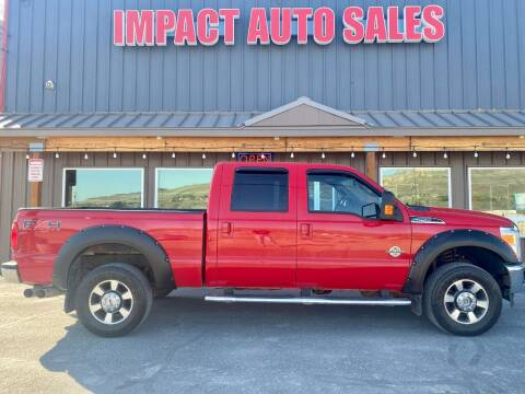 2011 Ford F-250 Super Duty for sale at Impact Auto Sales in Wenatchee WA