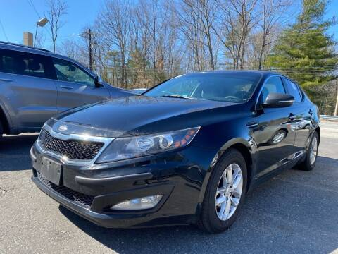 2013 Kia Optima for sale at Royal Crest Motors in Haverhill MA