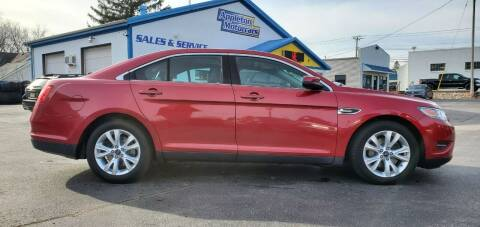 2012 Ford Taurus for sale at Appleton Motorcars Sales & Service in Appleton WI