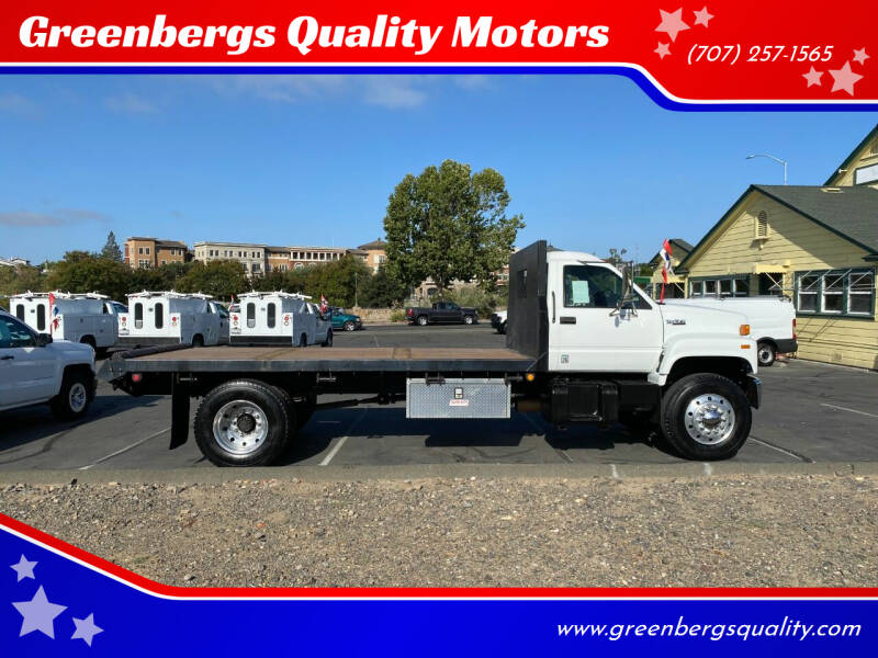 1996 GMC C7500 for sale at Greenbergs Quality Motors in Napa CA