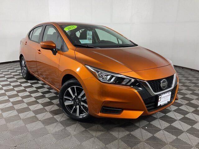 2021 Nissan Versa for sale at Virtue Motors in Darlington WI