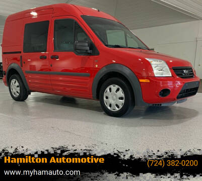 2012 Ford Transit Connect for sale at Hamilton Automotive in North Huntingdon PA