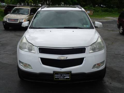 2009 Chevrolet Traverse for sale at MAIN STREET MOTORS in Norristown PA