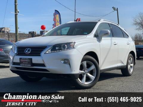 2015 Lexus RX 350 for sale at CHAMPION AUTO SALES OF JERSEY CITY in Jersey City NJ