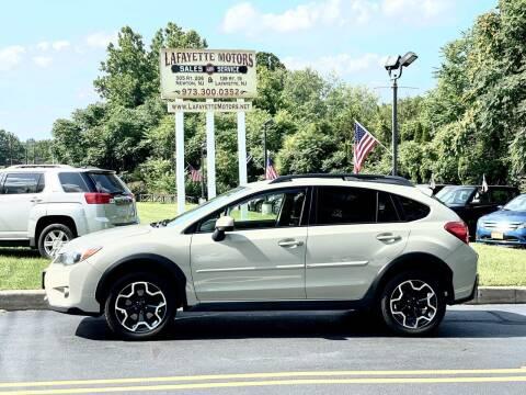 2015 Subaru XV Crosstrek for sale at Lafayette Motors 2 in Andover NJ