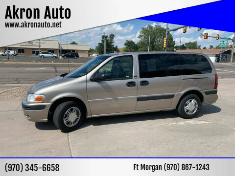 2003 Chevrolet Venture for sale at Akron Auto in Akron CO