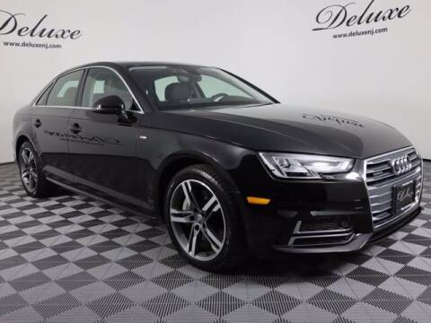 2018 Audi A4 for sale at DeluxeNJ.com in Linden NJ